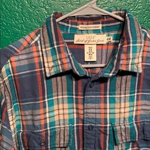 Other - H&M   Blue/Teal Flannel